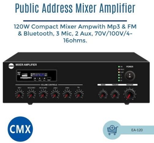 Mixer Amplifier EA-120